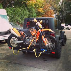 Jeep Wrangler Motorcycle Carrier Newb Question Motorcycle Carrier On Jeep Wrangler