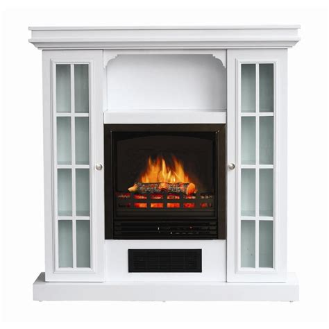 White Electric Fireplace Lowes by Additional Images