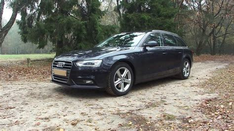 Audi A4 2013 Facelift by 2013 Audi A4 2 0 Tdi Avant Facelift Walkaround Youtube