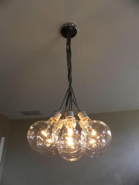 Cluster Pendant Light 7 Cluster Hanging Light Chandelier Pendant Lighting Modern Chandelier Cloth Cords Industrial