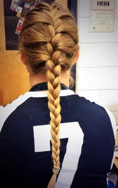 volleyball hairstyles braids volleyball hairstyles for long hair images