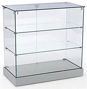 Glass Display Cabinets Hobart Retail Display Cabinet With Frameless Design