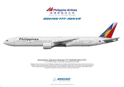 philippine airlines boeing 777 flights philippine airlines boeing 777 36ner rp c7777