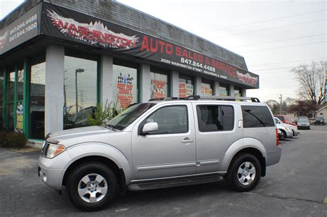 used nissan pathfinder 4x4 for sale 2005 nissan pathfinder se silver suv 4x4 sale washington auto