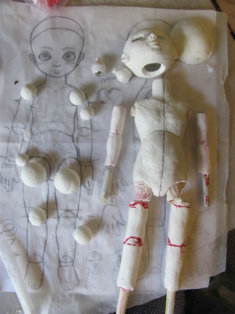 jointed doll how to make apw dollchat build a bjd doll outof clay from scratch