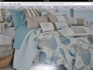 Seaside Comforters Gorgeous Seashell Bedding By Coastal Collection Bought