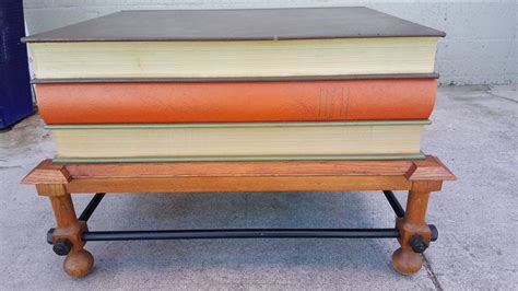 Stacked Book End Table by Dickinson Stacked Books End Table For Sale At 1stdibs