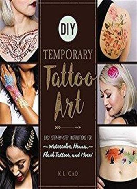 flash tattoo instructions diy temporary tattoo art easy step by step instructions