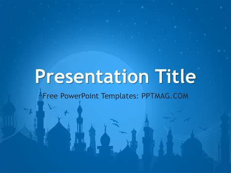 powerpoint templates for picture slideshow islam powerpoint template pptmag