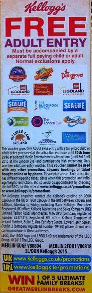 newspaper theme park vouchers chessington zoo voucher codes discount codes deals