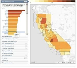 california jails map to avoid prison move to one of these counties news fix