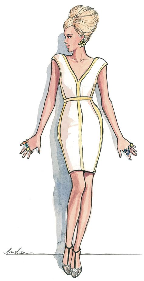 Wardrobe Illustration by Upscale Is In The Air Parte 3