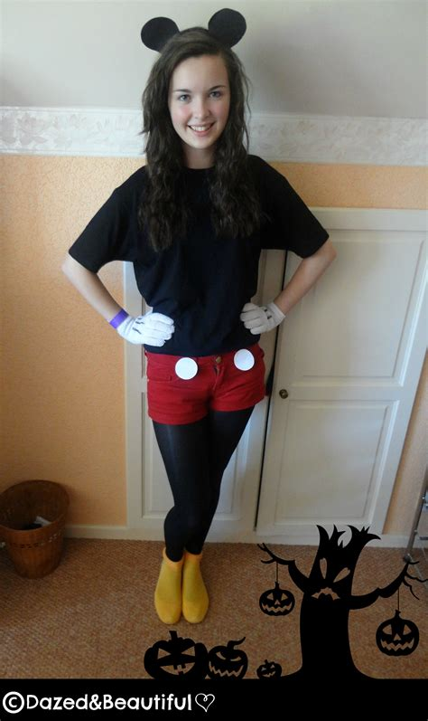 diy costumes diy mickey mouse costume dazed beautiful