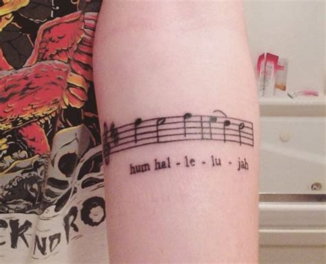 tattoo new song lyric tattoos fall out boy hum hallelujah 21