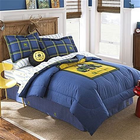 Jcp John Deere Blue Denim Comforter For The Boys Deere Bedding Sets