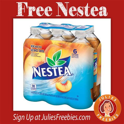 Nestea Sweepstakes - free nestea iced tea 6 pack at meijer s julie s freebies