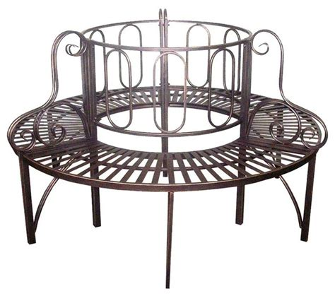 steel benches outdoor roundabout architectural steel garden bench traditional
