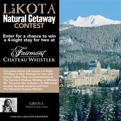 contest canada 2013 lakota getaway contest