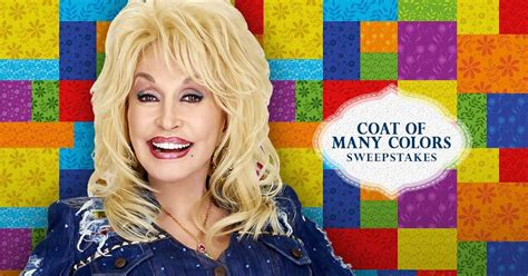 Dolly Parton Book Giveaway - dolly parton s coat of many colors contest