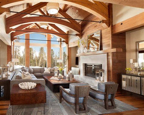 homes interior fabulous mountain house with modern touches in big sky montana