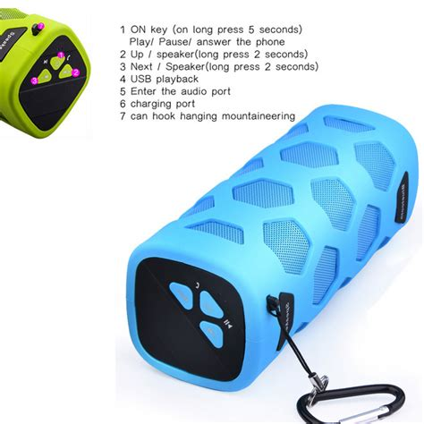 Portable Bluetooth Speaker Nfc With Power Bank 4000mah portable bluetooth speaker nfc with power bank 4000mah blue jakartanotebook