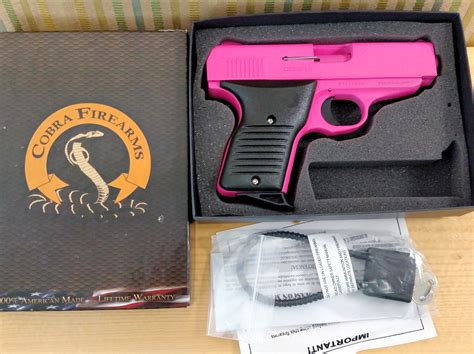 Cobra 380 Auto Pistol by Beautiful Brand New Beautiful Fs Pink Cobra 380 Acp Semi
