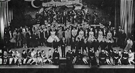 the last curtain call cast staff in final curtain call sunday 31st march 1963