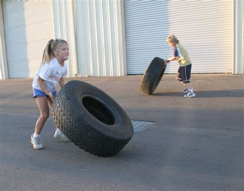 Exercises With A Bench Tire Flips Crossfit125