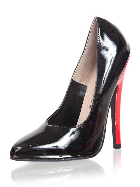high heels 6 inch stiletto killer heels s court shoe high heel 6 inch in black