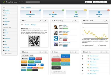 bootstrap templates for news free download 20 free bootstrap admin dashboard templates