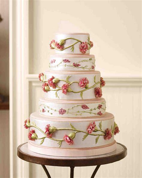 Wedding Cake Extract by Fabric Inspired Wedding Cakes Martha Stewart Weddings