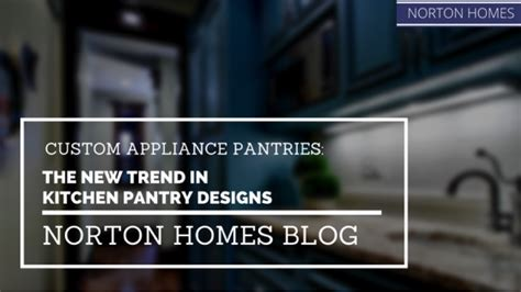 The New Pantry by Custom Appliance Pantries The New Trend In Kitchen Pantry