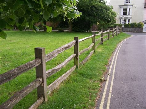 Modern House Designs rustic fencing portchester 169 colin babb geograph
