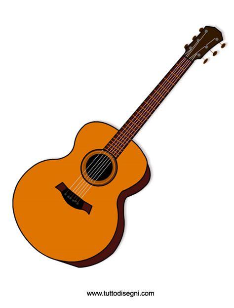 clipart strumenti musicali strumenti musicali chitarra da stare tuttodisegni