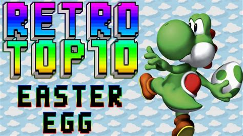 retrotop 10 top 10 easter egg youtube