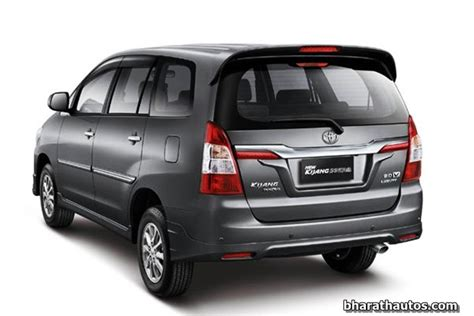 toyota india all set to launch the facelifted innova this september