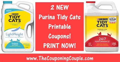 printable cat food coupons purina 2 new purina tidy cats printable coupons print now