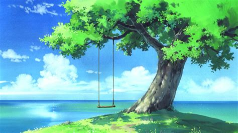 Anime Landscape Android Wallpaper | anime landscape wallpaper wallpaper studio 10 tens of