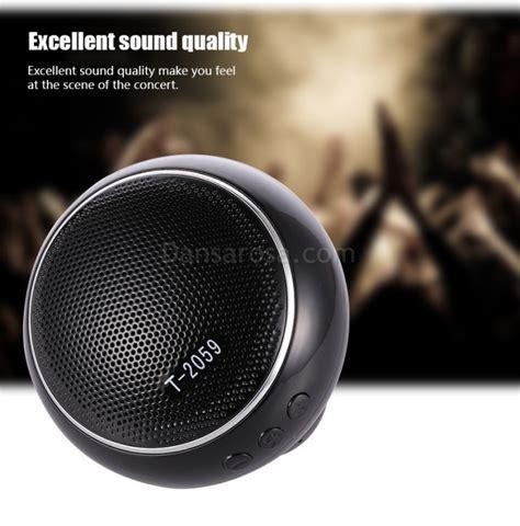 Mini Portable Speaker Subwoofer 2021q wholesale portable mini bluetooth speaker subwoofer t2059