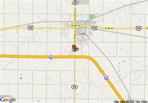 map of 8 motel colby colby