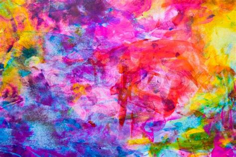 Find Home Plans by Abstract Watercolor Background Stock Photo Colourbox