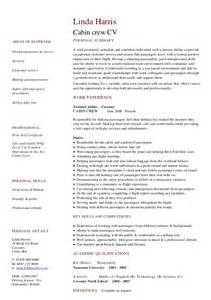 Best Resume Format For Cabin Crew Freshers by Cv Resume Examples To Download For Free