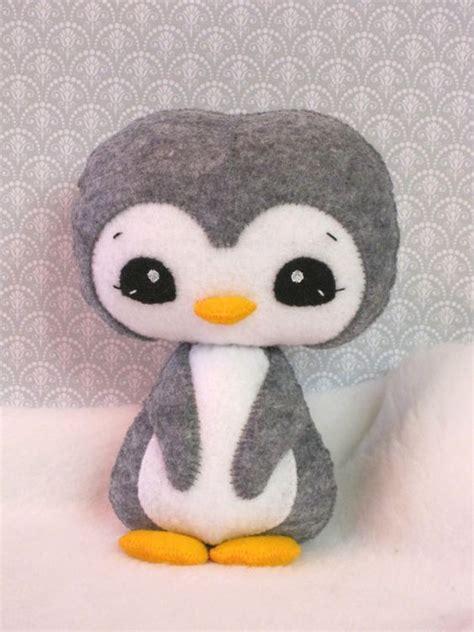 pattern felt penguin penguins kawaii felt and kawaii on pinterest