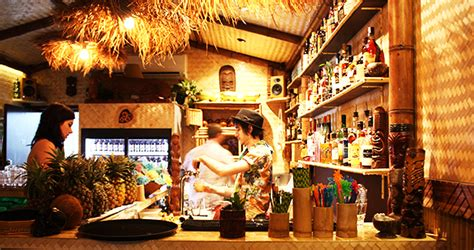 Jungle Tiki Bar Jungle Food Drink The Weekend Edition