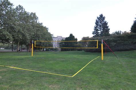 backyard net systems grass court construction
