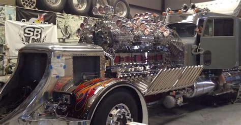 detroit monster truck show 21 baddest custom semi trucks on earth mentertained