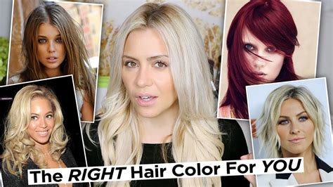 what is my skin color the right hair color for your skin tone how to find your