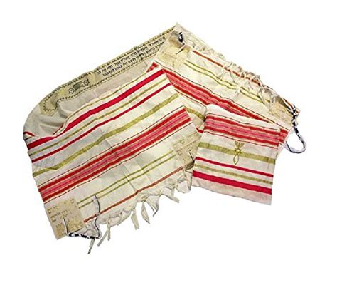Phasmina Cristian Impor pink and gold grafted messianic tallit prayer shawl import it all