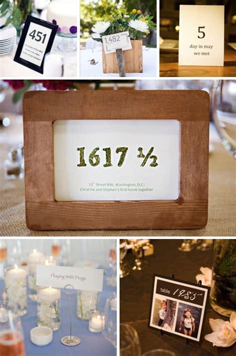Unique Wedding Table Card Ideas