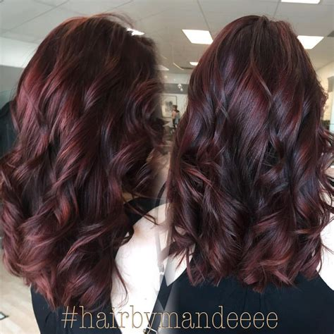burgundy brown hair color pictures burgundy brown hair color hair pinterest beautiful